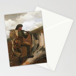 Winslow Homer, A Huntsman and Dogs, 1891 Stationery Cards