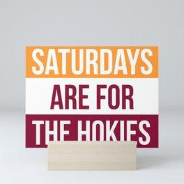 hokies Mini Art Print