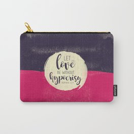 Let Love Carry-All Pouch