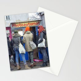 Old photo booth in Berlin Stationery Cards