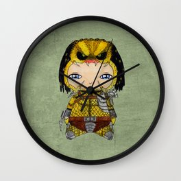 A Boy - Predator Wall Clock