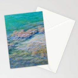 Underwater Sand Swirl Stationery Cards