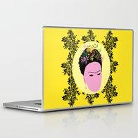frida Laptop & iPad Skins featuring Frida by Emmanuelle Ly