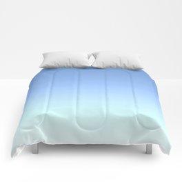 Blue to Aqua Ombre Comforters