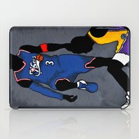 lakers iPad Cases featuring The Step Over by nissa