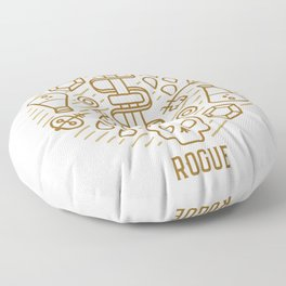 Rogue Emblem Floor Pillow