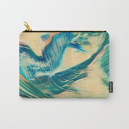 Sandy Waves Carry-All Pouch