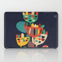 leaves iPad Cases featuring Wild Flowers by Picomodi