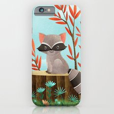 Woodland Friends - Raccoon iPhone 6s Slim Case