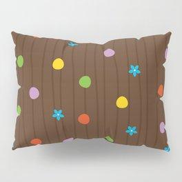 Chocolate Cupcake Pillow Sham