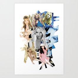 B Eras Art Print