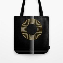 GUITAR IN ABSTRACT (geometric art deco) Tote Bag