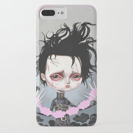 Edward Scissorhands Is Sad iPhone Case