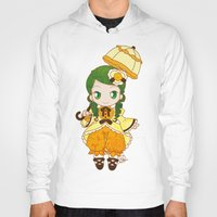 chibi Hoodies featuring Chibi Canaria by Yue Graphic Design