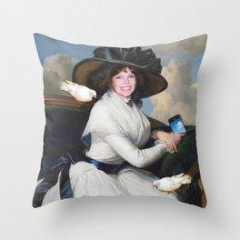 My Oldest Seflie Throw Pillow