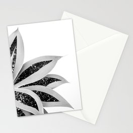Agave Finesse Glitter Glam #5 #tropical #decor #art #society6 Stationery Cards