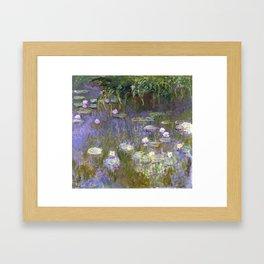 Water Lilies - Monet Framed Art Print