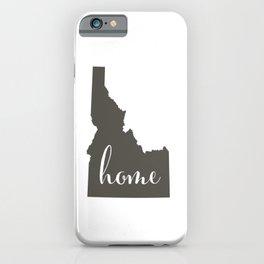 Idaho is Home iPhone Case