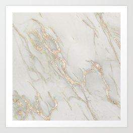 Marble Love Bronze Metallic Kunstdrucke