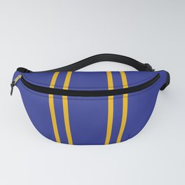 Chun Li Collant Stripes Fanny Pack