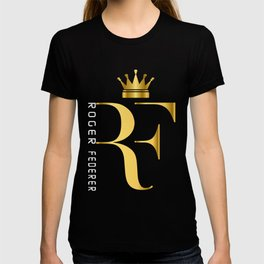 Roger Federer The King of Tennis T-shirt