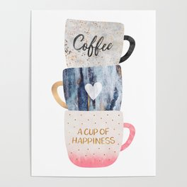 A cup of happiness Poster