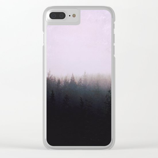 I want to be wherever you are Clear iPhone Case