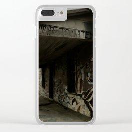 graffiti house Clear iPhone Case