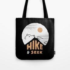 Hike And Seek Tote Bag