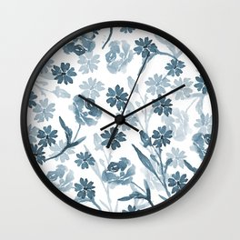 Paint it Blue Wall Clock