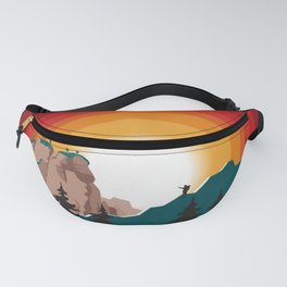 Into The Forest I Go Fanny Pack