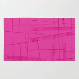 A hot pink mess Rug