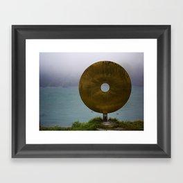 Art on the Shore Framed Art Print