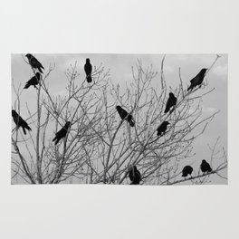 Murder Of Crows - Four Rug