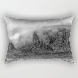 Old Man of Storr on the Isle of Skye Rectangular Pillow