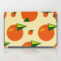 orange pattern iPad Cases featuring orange pattern by Avrora-slip