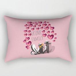 Skunk family #2 (s) 2017 Rectangular Pillow