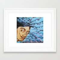 dali Framed Art Prints featuring Dali by Kevin Rogerson