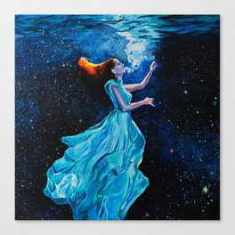 Drowned in stras Canvas Print
