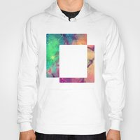 decal Hoodies featuring Space Decal by artii