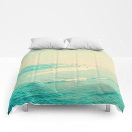 beach sunday II Comforters
