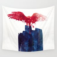beast Wall Tapestries featuring Big Beast by Robert Farkas