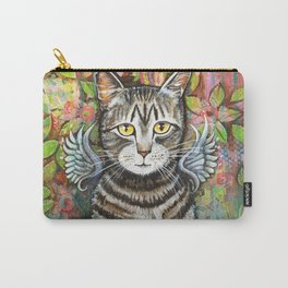 Bobcat Angel by Robynne Carry-All Pouch