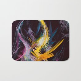 Fractured Realities and Dreams Brought to Light Bath Mat