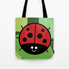 Cutesy Crawlies — Ladybird Tote Bag