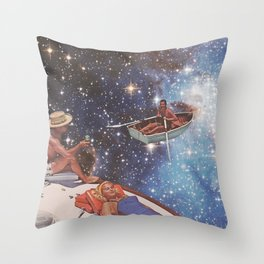 COSMIC RELAXATION Throw Pillow