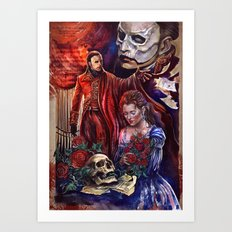 The Phantom of the Opera Art Print