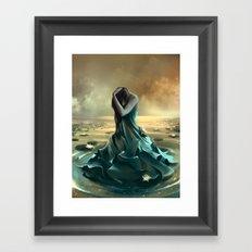 Vague à l'âme Framed Art Print