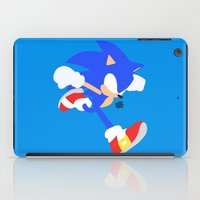 sonic iPad Cases featuring Sonic(Smash) by ejgomez