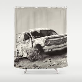 New Road Shower Curtain